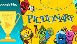The Most Social Mobile App of 2017 is Pictionary