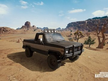 PUBG Desert Map Brings A New Vehicle