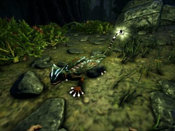 Ark: Survival Evolved – Aberration | How To Find And Tame Glowtail