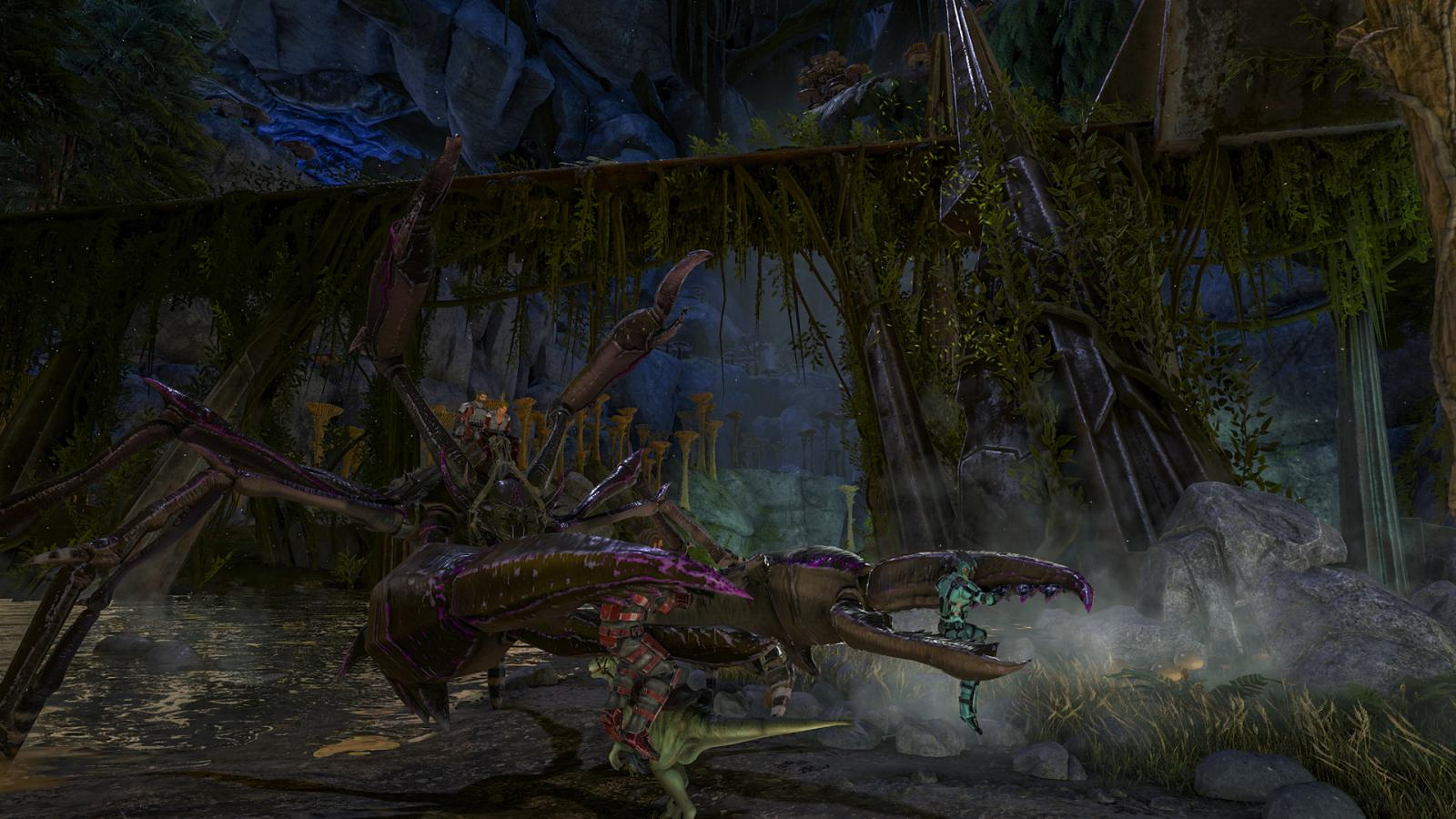 Ark Survival Evolved Aberration How To Find And Tame