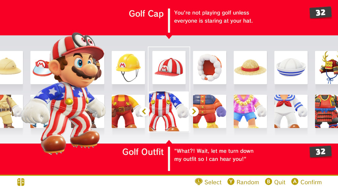 how to get all outfits in super mario odyssey