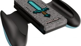 Here's The First Look At The Minecraft Diamond Sword Joycon Grip