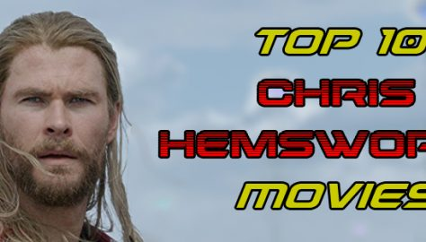 Chris Hemsworth Movies Banner