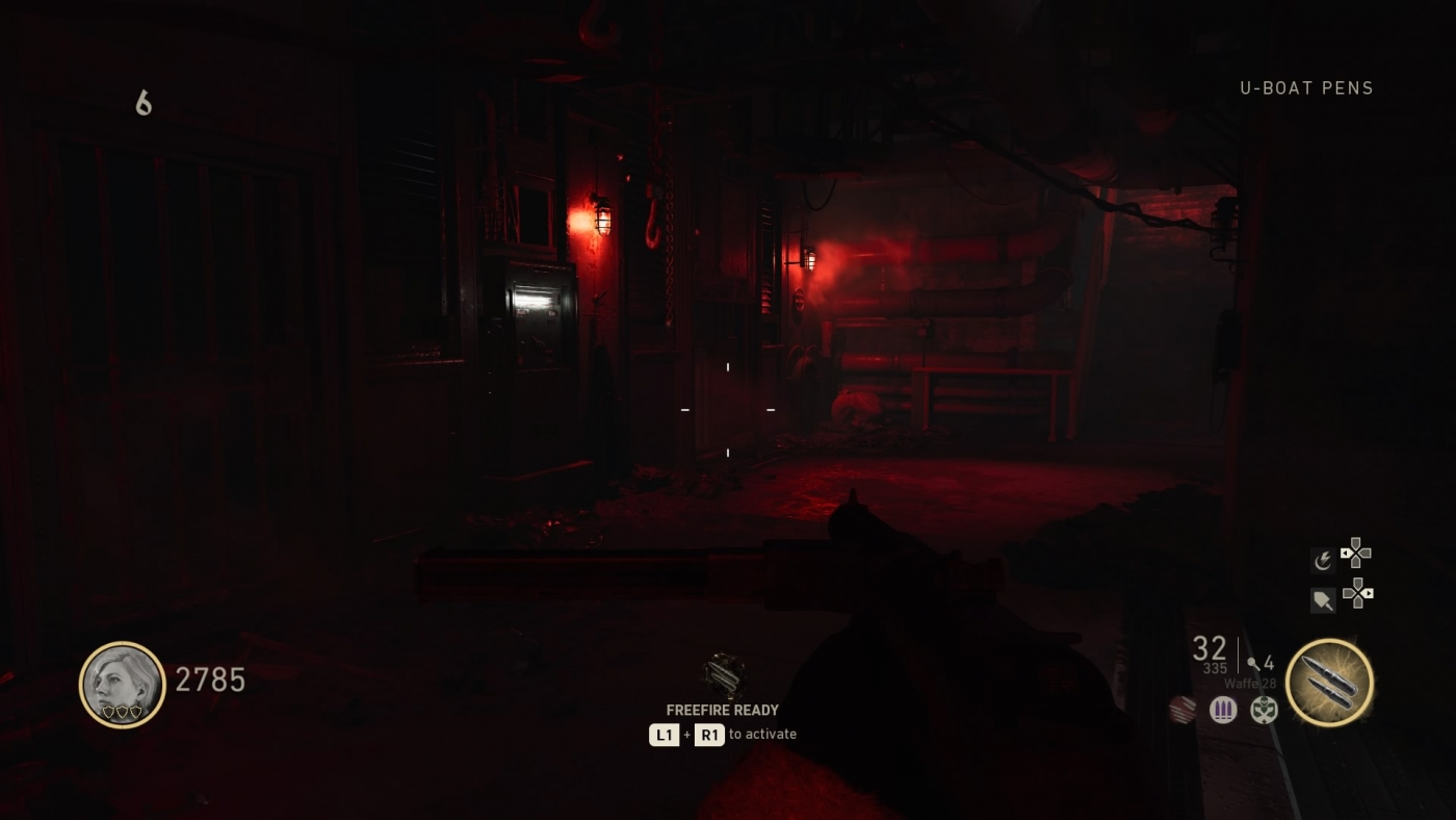 call of duty ww2 zombies how to turn on power