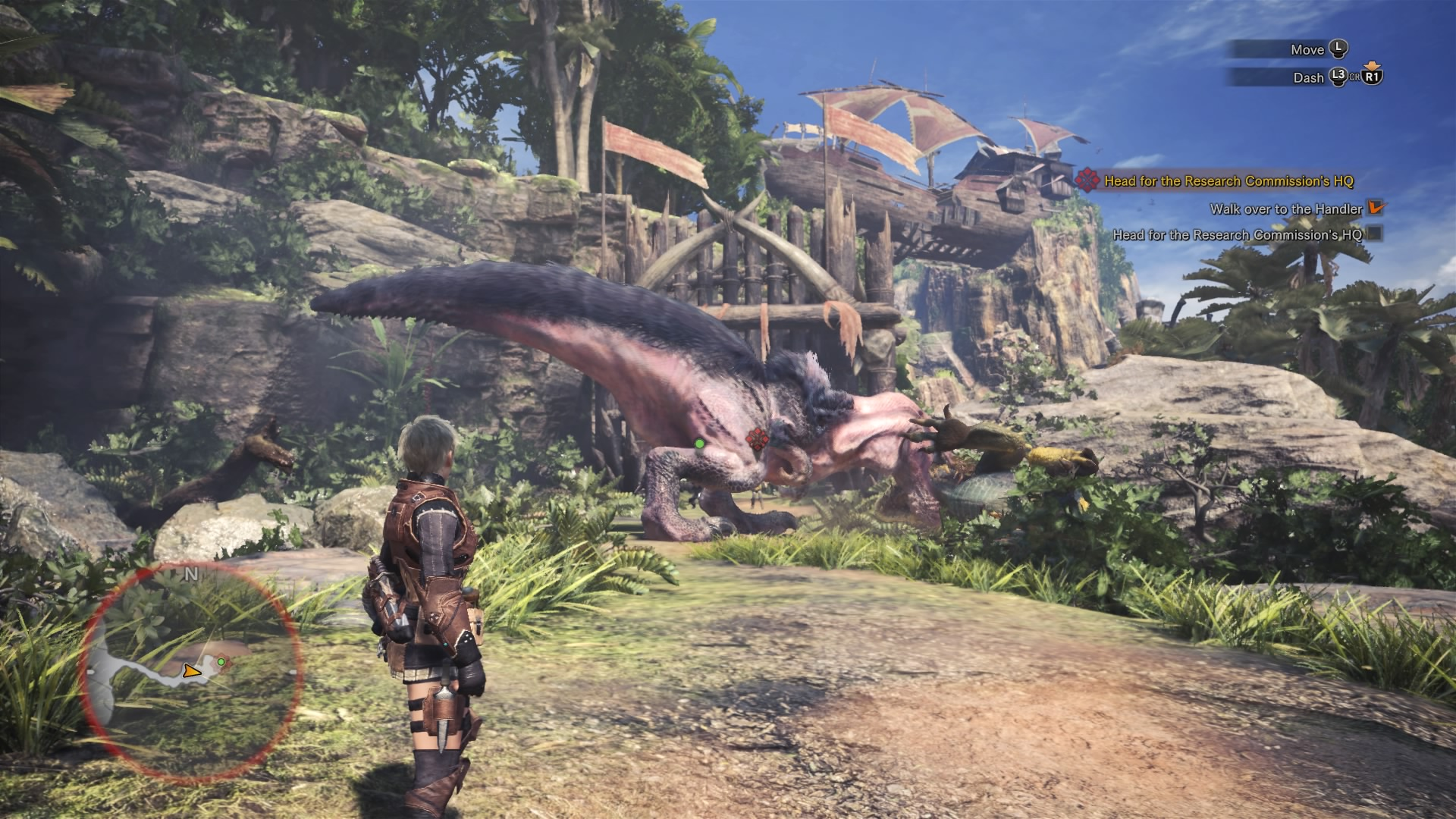 Monster Hunter World How To Beat Every Large Monster Ancient Forest Guide Gameranx