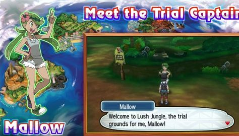 Pokemon Ultra Sun & Moon Walkthrough | Part 5: Captain Mallow's Trial