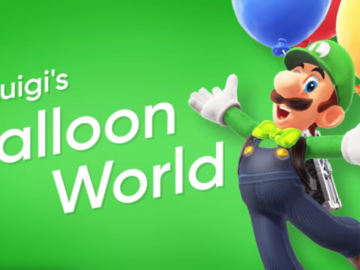 Super Mario Odyssey: Here's How Luigi's Balloon World Works