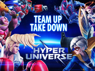 Free-To-Play Side Scrolling MOBA Hyper Universe Releases Today