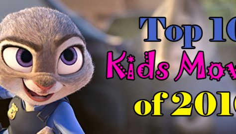 Best Kids Movies 2016 Banner
