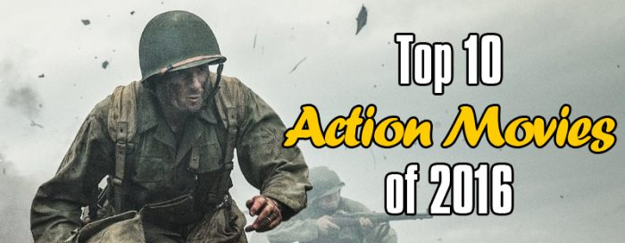 Top 10 Action Movies of 2016