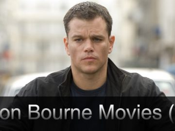 The Jason Bourne Movies (Ranked)