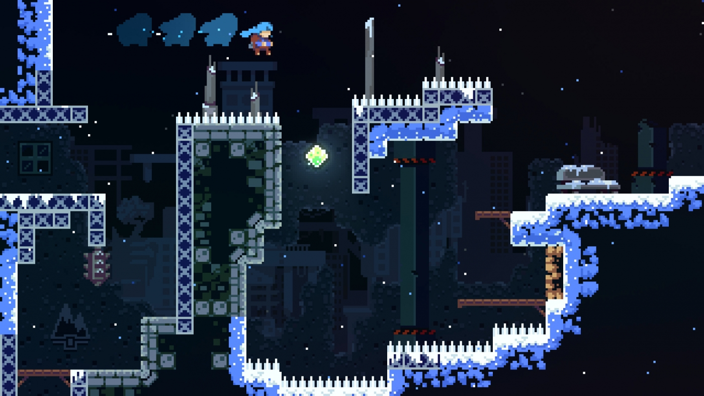 celeste how to get every crystal heart blue red heart locations
