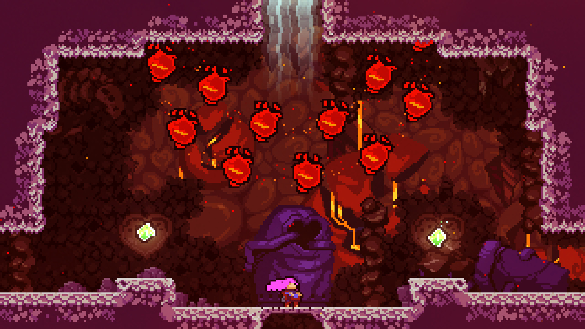 Celeste: How To Get Every Crystal Heart   Blue & Red Heart