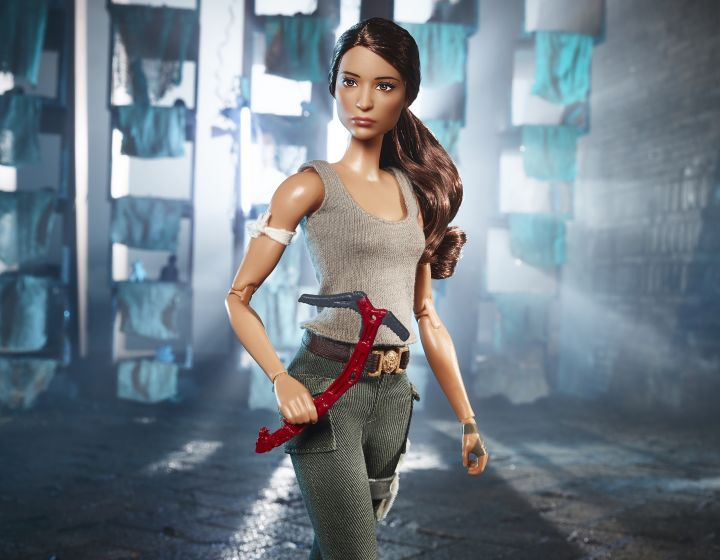 Lara Croft Barbie Doll Launching Alongside Tomb Raider Film
