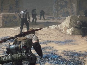 Metal Gear Survive: How To Get Clean Water & Potatoes   Hunger & Thirst Guide