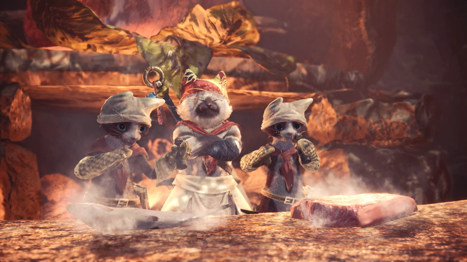 Monster Hunter World How To Get All 6 Palico Gadgets Hidden