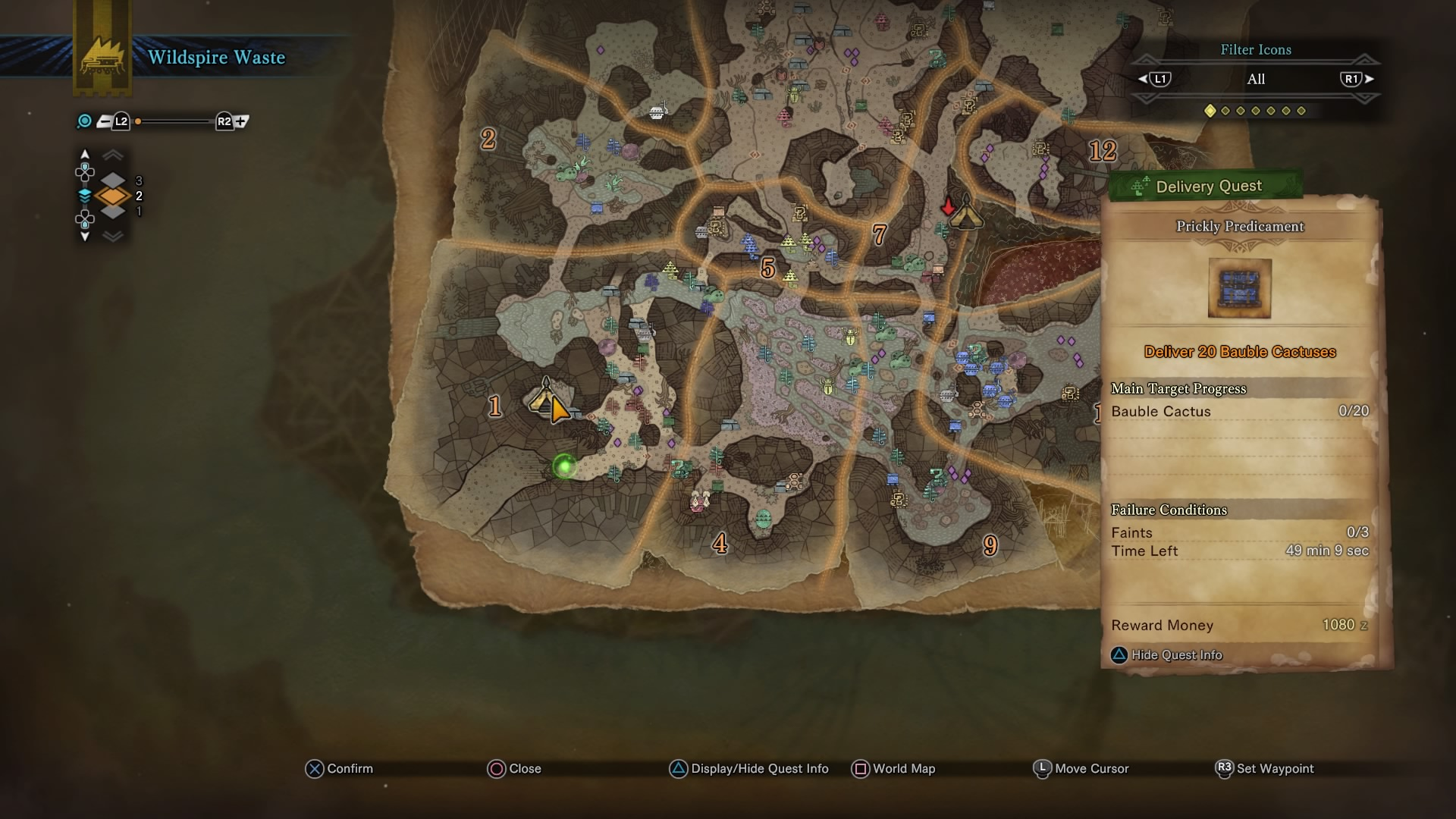 Monster Hunter World How To Unlock All Camp Sites