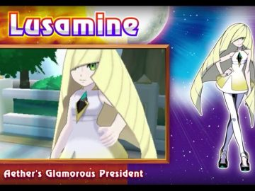 Pokemon Ultra Sun & Moon Walkthrough | Part 10: Aether President Lusamine