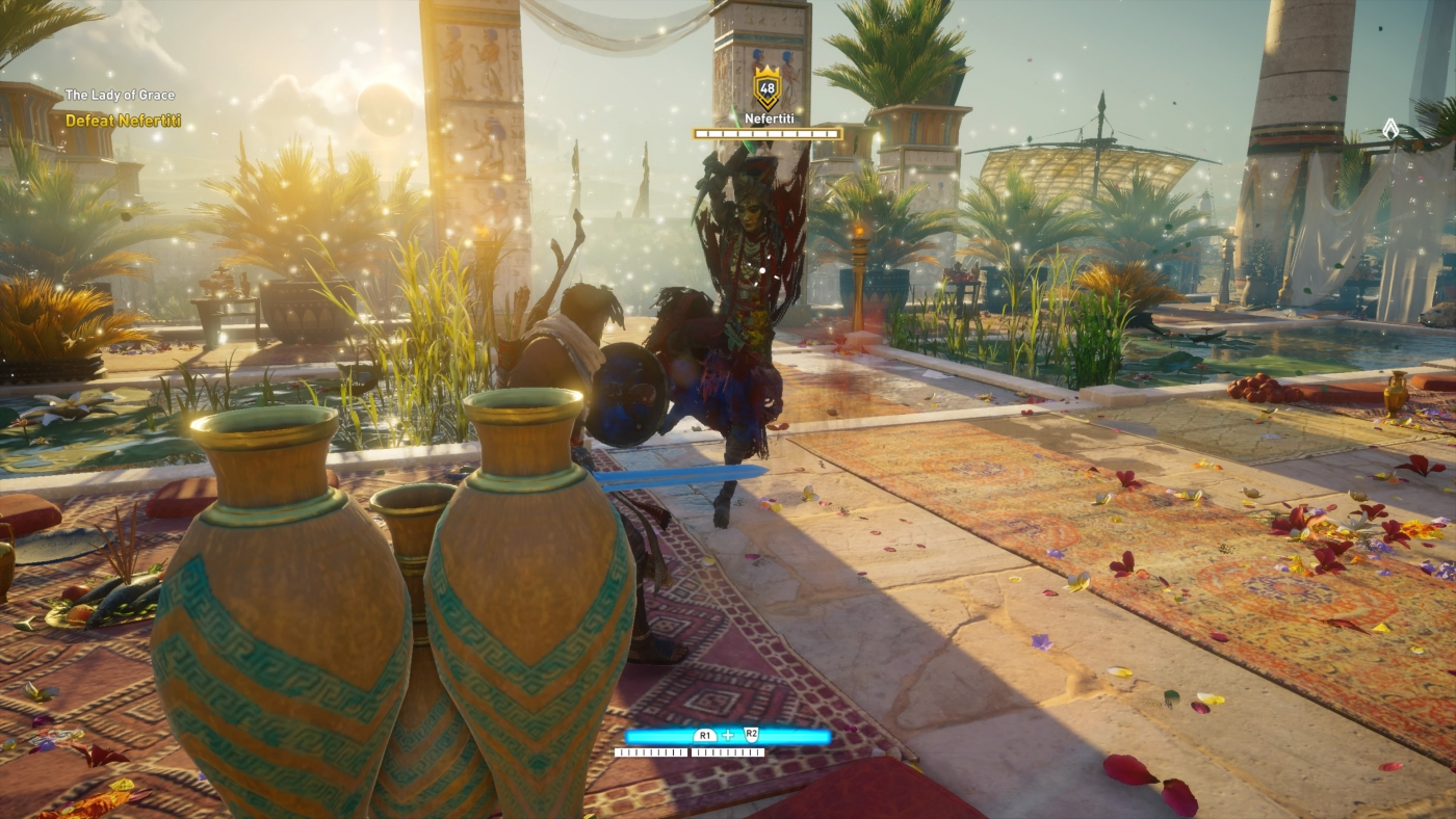 how to solve the sundial puzzle assassins creed origins