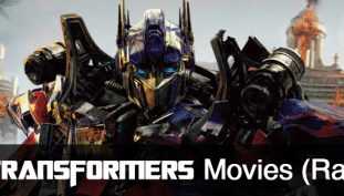 The Transformers Movies (Ranked)