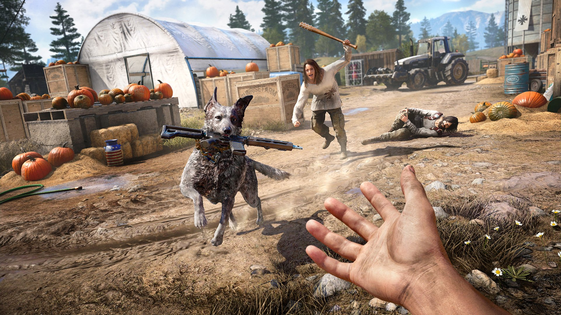 Far Cry 5: All Animal Companions Guide | Where To Get The Dog, Bear & Lion