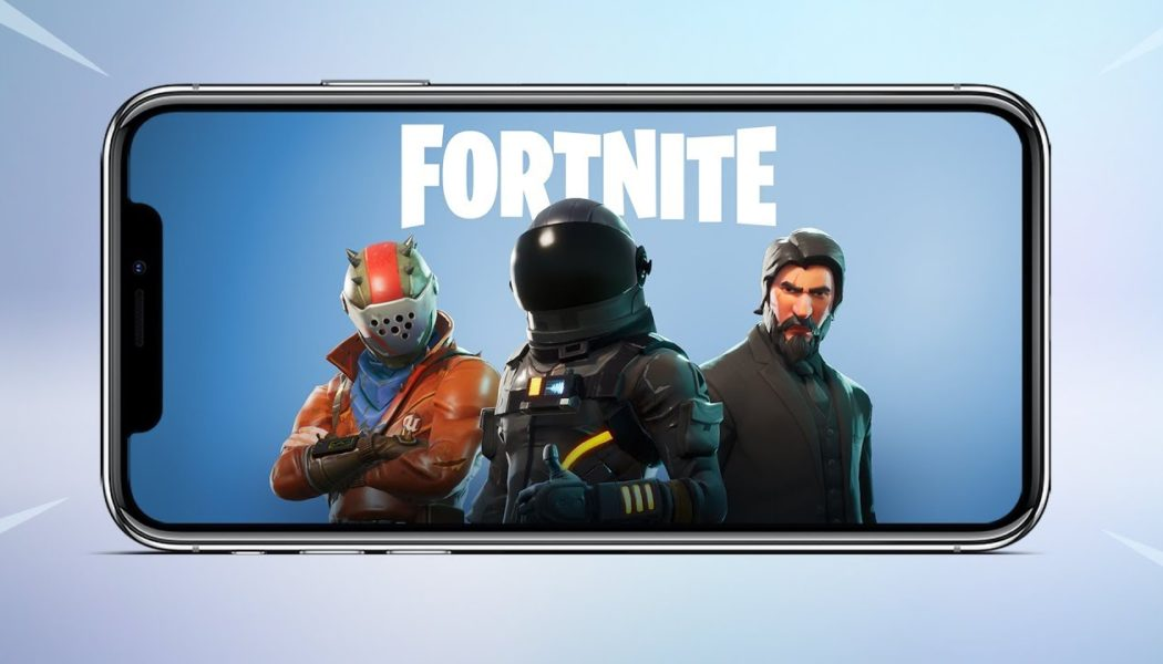 iOS Fortnite: Battle Royale Hits No.1 On App Store
