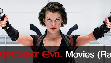 Resident Evil Movies Banner