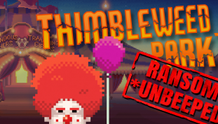 Thimbleweed Park DLC Uncensors Ransome the Clown