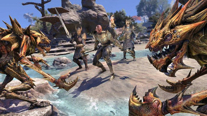 Elder Scrolls Online's Next Expansion Takes Players To Realm Of High Elves