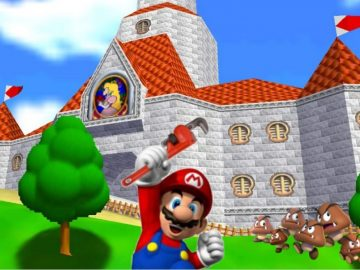 Nintendo Recruits Mario's Plumbing Services Once More