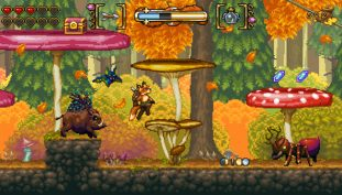 Vulpine Retro Platformer Fox n Forests Gets New Footage