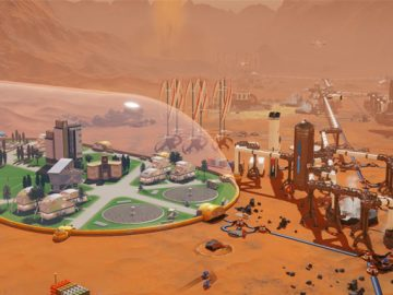 Surviving Mars PS4 File Size Revealed