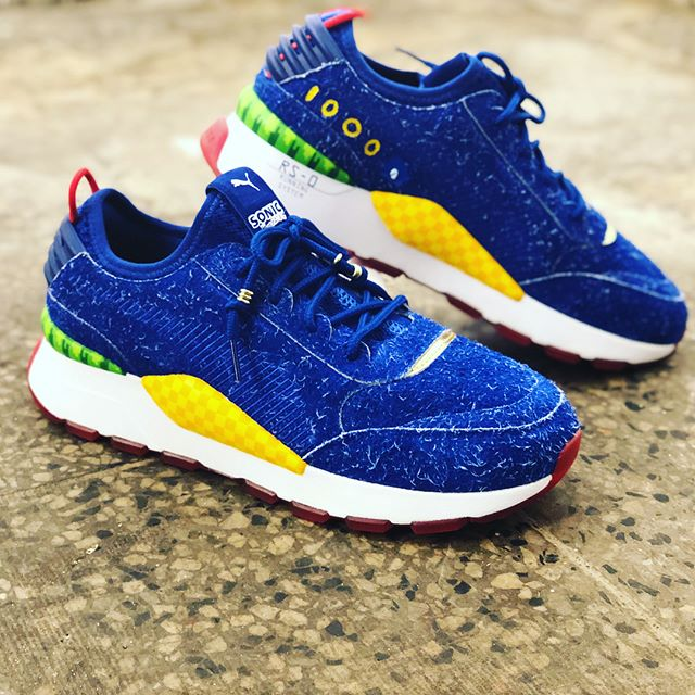 58e214a7d1c Sonic Puma x Sega RS-0 Sonic Sneakers Revealed - Gameranx