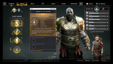 God of War (2018): How To Get The Best Armor Sets | Valkryie, Magma & Mist