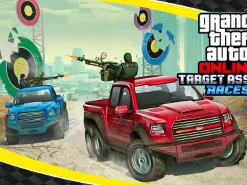 Target Assault Mode Tearing Down GTA Online's Roads