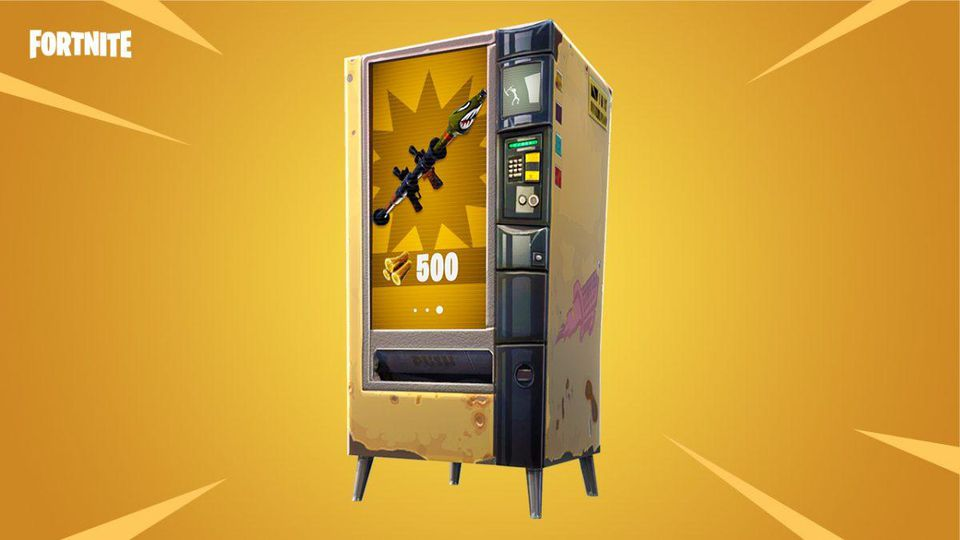 Fortnite: Everything You Need To Know About Vending Machines