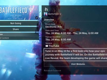 Battlefield V Key Art Surfaces Online