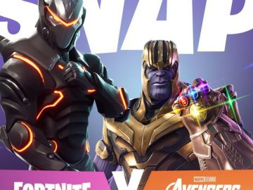 Fortnite X Avengers Update Is Now Live
