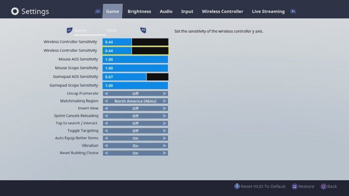 17 increase brightness to see better in dark areas on console pc - fortnite building settings xbox