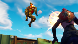 Fortnite Update 4.3 Adds Driveable Shopping Carts and Edible Mushrooms for Shield