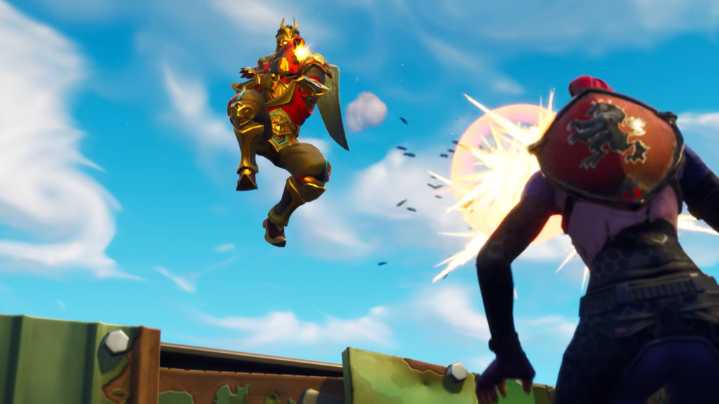 Fortnite Update 5 20 Adds Double Barrel Shotgun And New Limited Time