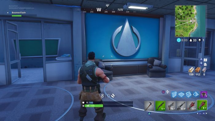those glowing meteors seen in the skies over the map during season 3 of fortnite battle royale have finally landed and they ve totally changed the layout - fortnite zone wars map