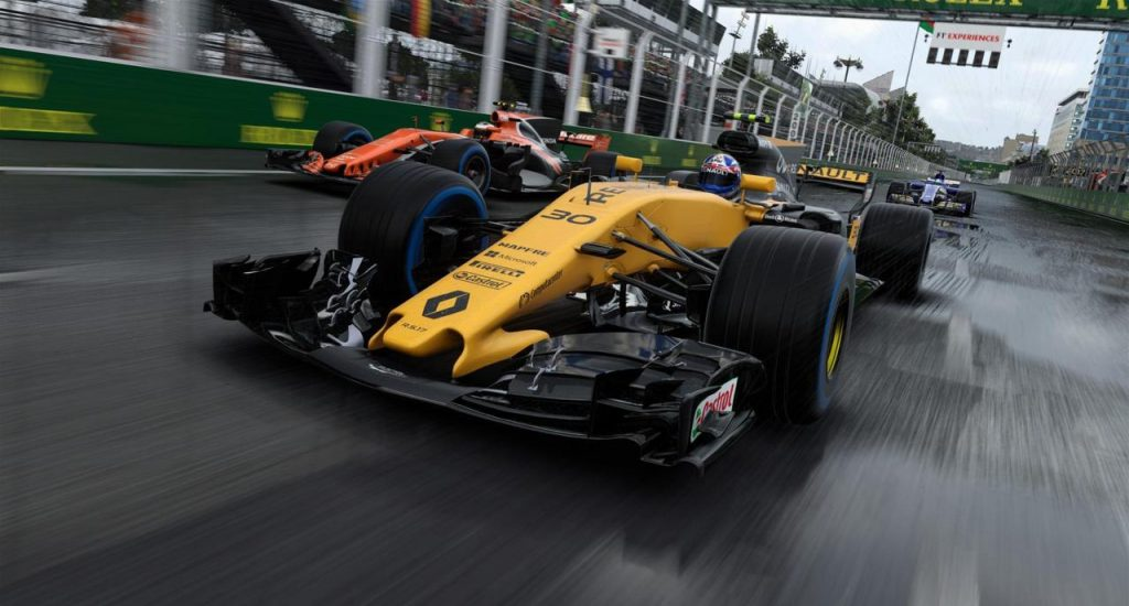 F1 2018 Officially Announced