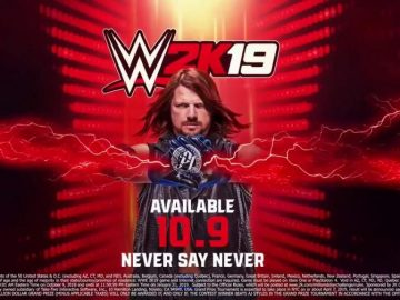 Superstar AJ Styles Revealed as WWE 2K19 Cover Star; Million-Dollar Challenge Kicked Off