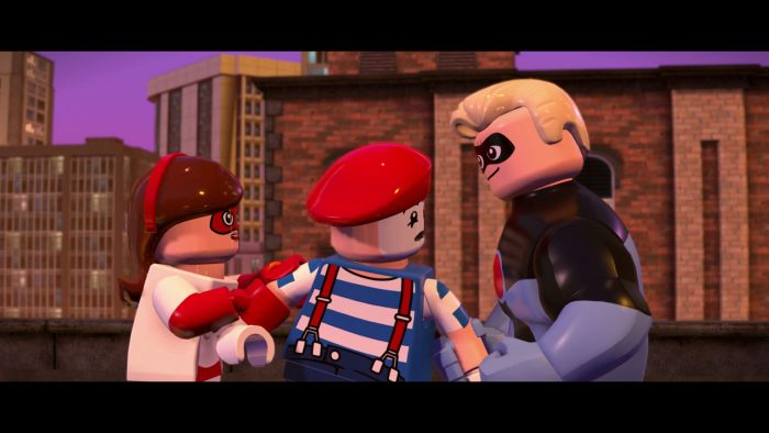 LEGO The Incredibles: All Minikits Locations Guide | Level 7: The Golden Years