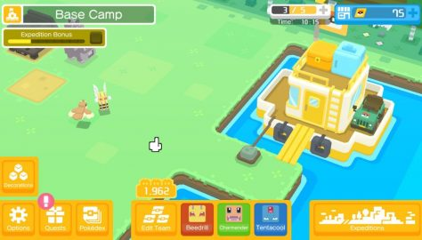 Pokemon Quest: How To Recharge Mobee's Battery   Stamina Guide