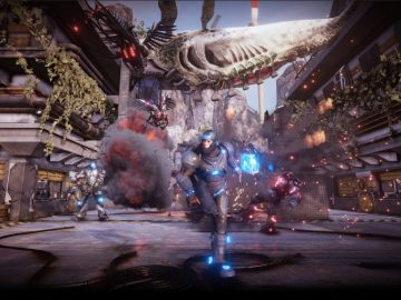 Sci-Fi Shooter Gene Rain Coming to PS4 Tomorrow; An Endless Conflict Between Man and Technology
