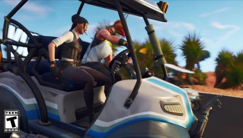 Fortnite: Battle Royale Season 5 – How To Race The ATK Golf Cart | Time Trials Easter Egg