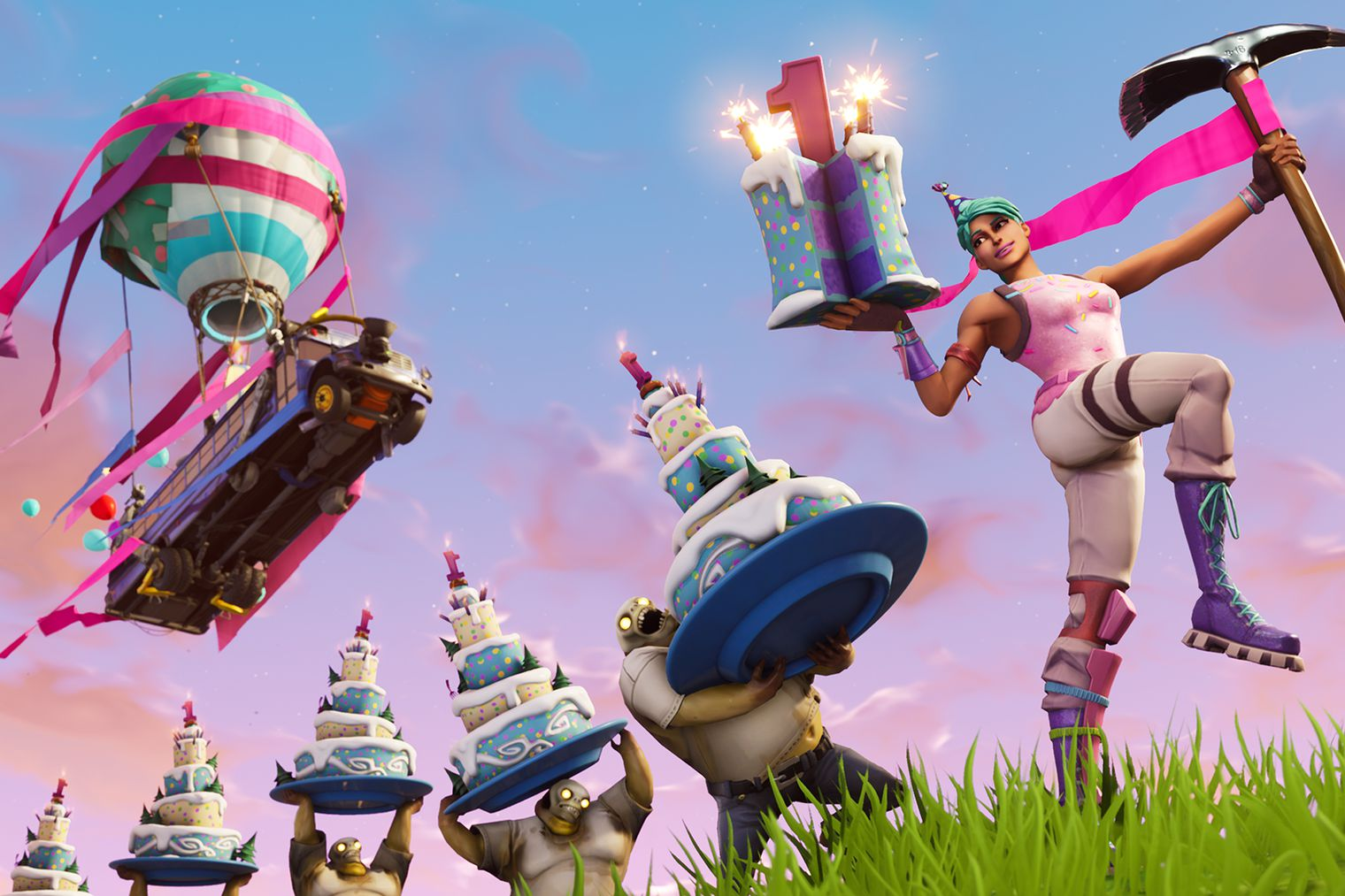 Fortnite: Battle Royale – One Year Anniversary Challenge Guide | All 10 Cake Locations