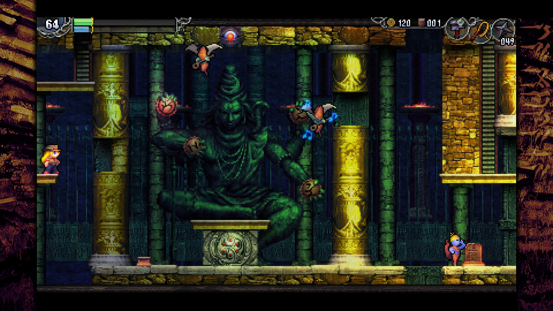 La-Mulana 2 Walkthrough: Dark Lord's Mausoleum Puzzles & Guardian | Part 6